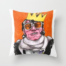 King Choker Throw Pillow