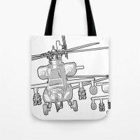 Apache's Flying Toon Ren… Tote Bag