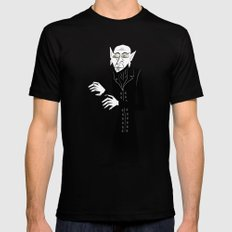 The Halloween Series - Nosferatu Black SMALL Mens Fitted Tee