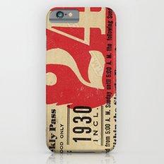 Vintage Tickets iPhone 6 Slim Case