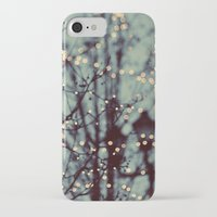 twilight iPhone & iPod Cases featuring Winter Lights by elle moss