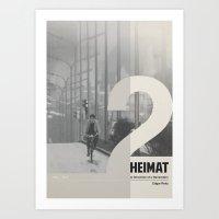 Heimat 2 Art Print