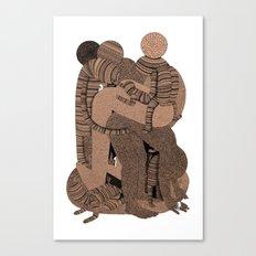 Big Bent Canvas Print