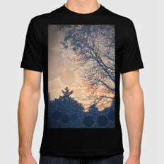 Daybreak Mens Fitted Tee Black SMALL