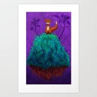 Foxhole Art Print