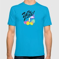 Oh Yeah! | Originals Mens Fitted Tee Teal SMALL
