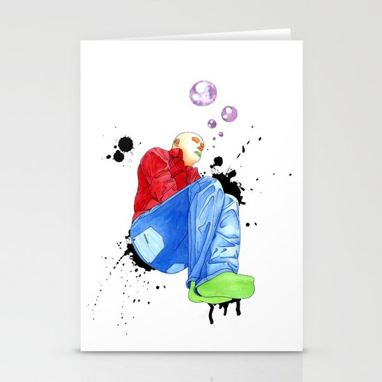 Humans Dreem Stationery Card