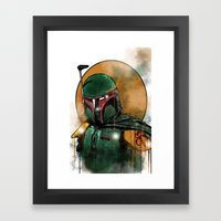 Fett Framed Art Print