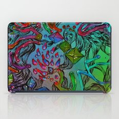 diamonds space magic iPad Case