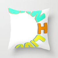 Can I Live? Throw Pillow