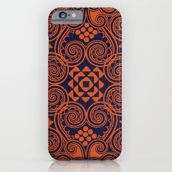 Decographic - Navy iPhone & iPod Case
