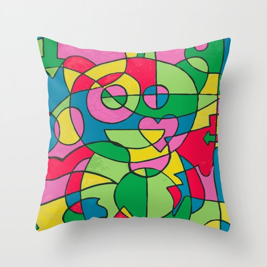 reddit love Throw Pillow
