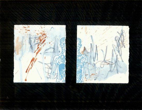 blue boy. 2009 Art Print