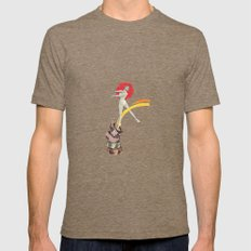 Ballerina Mens Fitted Tee Tri-Coffee SMALL
