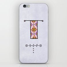 T t iPhone & iPod Skin