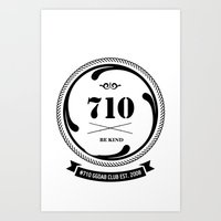 The 710  Art Print