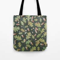 Oak pattern Tote Bag