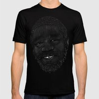Horace Andy Mens Fitted Tee Black SMALL