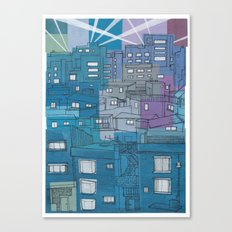 Seoul City #3 Canvas Print