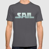 Sailing Mens Fitted Tee Asphalt SMALL