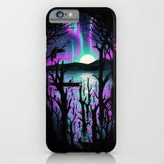 Night With Aurora iPhone 6 Slim Case