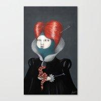 Encarnación: María Canvas Print