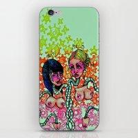 Pretty girls iPhone & iPod Skin