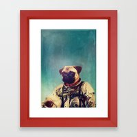 A Point To Prove Framed Art Print