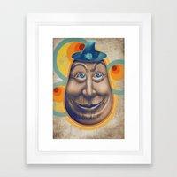 Tentetieso Sonriente Framed Art Print
