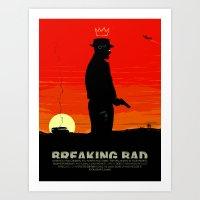 Break Bad - Heisenberg Art Print
