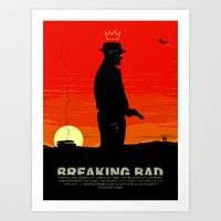 Break Bad - Heisenberg Art Print