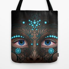 Halloween Mask - Painting Tote Bag