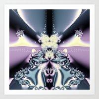 Purple Stage Art Print