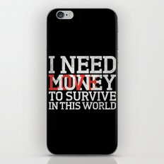 Money & Love iPhone & iPod Skin