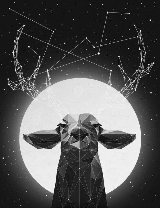 The Banyan Deer Canvas Print