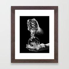 Creating New Moons Framed Art Print