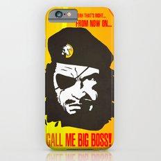 Call Me Big Boss iPhone 6s Slim Case