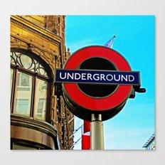 Underground at Harrods Canvas Print