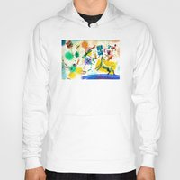 Hoody featuring Dragonflies and dog by Nato Gomes