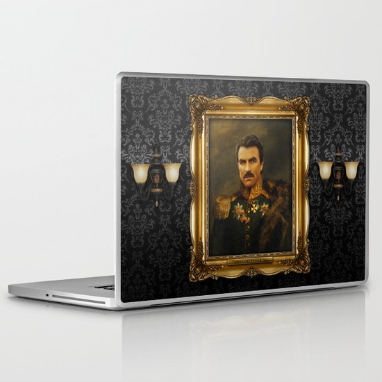 Tom Selleck - replaceface Laptop & iPad Skin