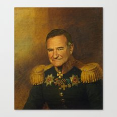 Robin Williams - replaceface Canvas Print