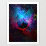 α Dark Aurigae Art Print