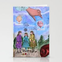 MONGOLFIERE Stationery Cards