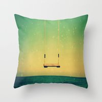 Swing me a Love Song Throw Pillow