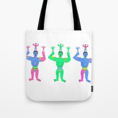 Muscle slime men Tote Bag