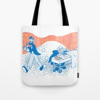 Freud and Halsted Tote Bag