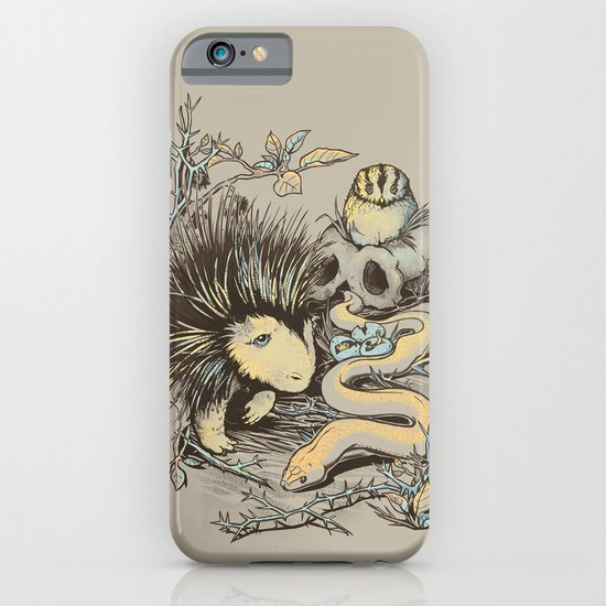 Haunters of the Waterless iPhone & iPod Case