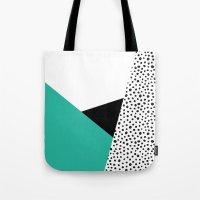 Geometric Modern Triangl… Tote Bag