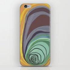 Tree Stump Series 1 - Illustration iPhone & iPod Skin