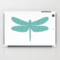pattern with dragonfly iPad Case